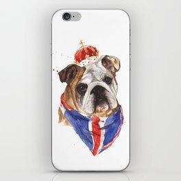 Thank you LONDON - British BULLDOG - Jubilee Art iPhone Skin