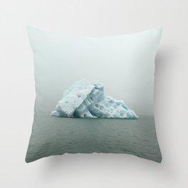 Jokulsarlon Iceberg Throw Pillow
