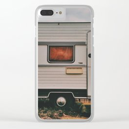 Van cat Clear iPhone Case