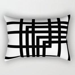 Minimal lines Rectangular Pillow