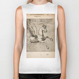 Hugo de Groot's Syntagma Arateorum 1600 - 15 Equus or Pegasus Biker Tank