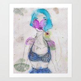 Fever Chills Art Print