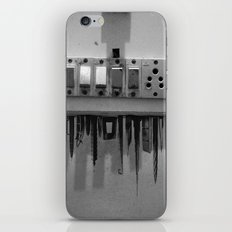 Switch On skyscrapers iPhone & iPod Skin