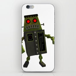 Frankbot iPhone Skin