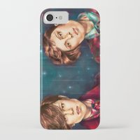tegan and sara iPhone & iPod Cases featuring Tegan & Sara by Miriam R. Kent