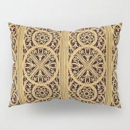 Golden Ornement Pillow Sham