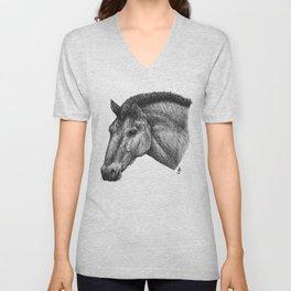 Przewalski's Horse Unisex V-Neck