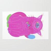 cyclops Area & Throw Rugs featuring Cyclops by Madelen Foss