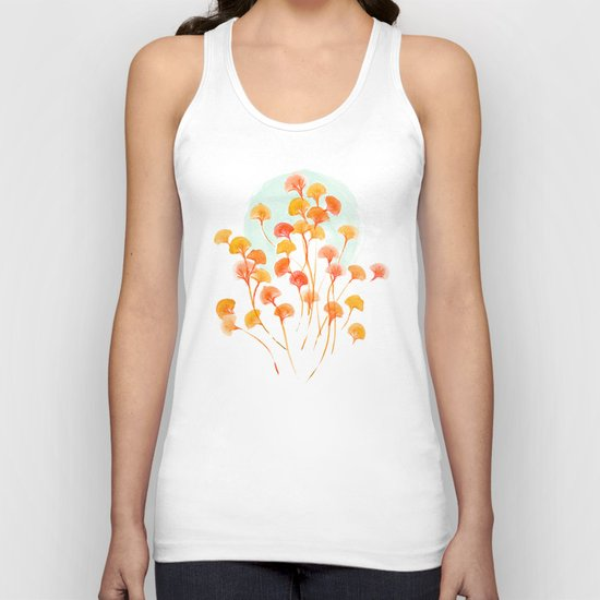 The bloom lasts forever Unisex Tank Top