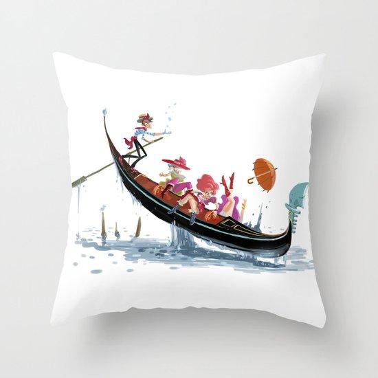 Pin up Venise Throw Pillow