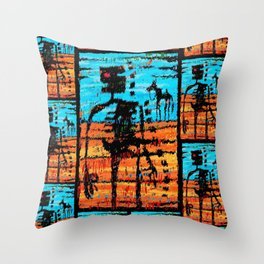 The Last Outlaw Throw Pillow