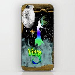 Virgo Birth Sign iPhone Skin