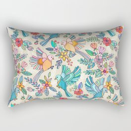 Whimsical Summer Flight Rectangular Pillow