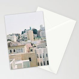 San Francisco rooftops Stationery Cards