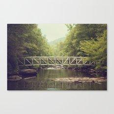 Horsepasture Bridge Canvas Print