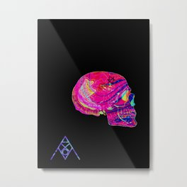 PSYSKULL Metal Print