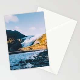 Exit Glacier - Kenai Fjords National Park Stationery Cards