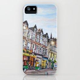 Grassmarket Dusk, Edinburgh iPhone Case