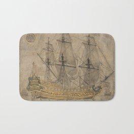 Ship by 'Abd al-Qadir Hisari, 1776 Bath Mat