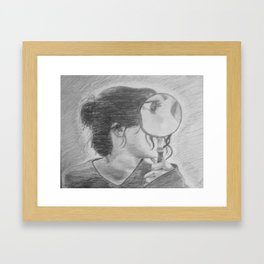 lilac wine Framed Art Print