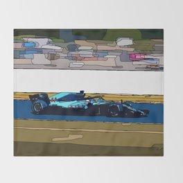 Formule 1 racing Throw Blanket