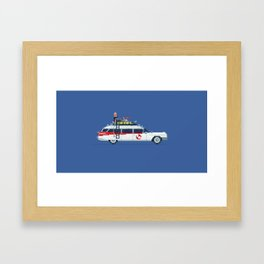 Ecto 1 Framed Art Print