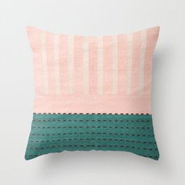 Anthropologie Traditional Moroccan Style Pink Texture (N28) Throw Pillow