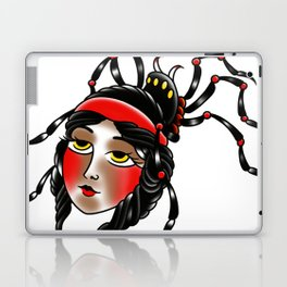 Black widow Laptop & iPad Skin