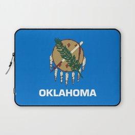 flag of oklahoma-Oklahoma,south,Oklahoman,Okie, usa,america,Tulsa,Norman,Broken Arrow Laptop Sleeve