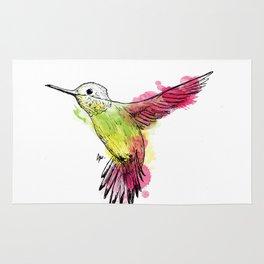 Flying colibri Rug