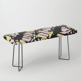 Coral Reef Moonlight Reflections Bench