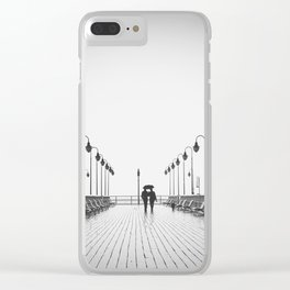 In Love On the Pier Clear iPhone Case