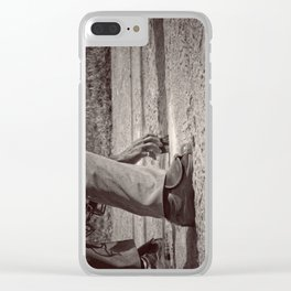 Clean Plate Clear iPhone Case