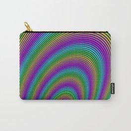 Fractal Rainbow Tunnel Carry-All Pouch