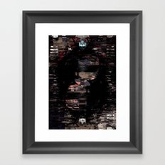 dirty political machines Framed Art Print