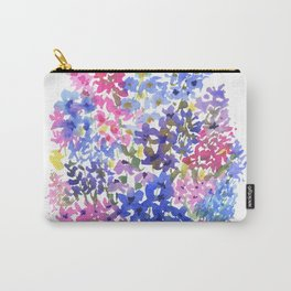 Blue Delphinium Garden Carry-All Pouch