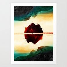Isolation Island Art Print