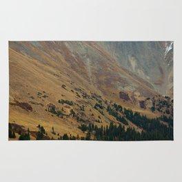 warm valley Rug