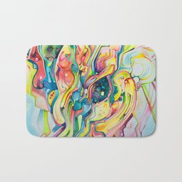 Timeless June 26 2007 - Watercolor Painting Bath Mat