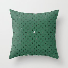 House of the Cunning - Pattern II Throw Pillow