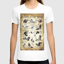 Cranes of the World T-shirt