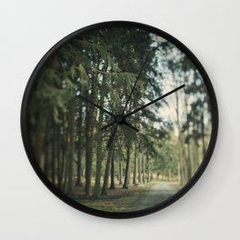Standing Tall Wall Clock
