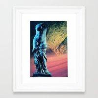 women Framed Art Prints featuring Women by Miii