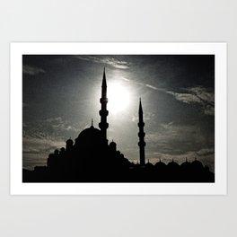 Mosque Art Print