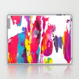 Abstract Paint Smear Party Laptop & iPad Skin