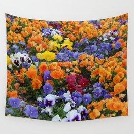 Pancy Flower 2 Wall Tapestry