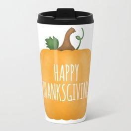 Happy Thanksgiving | Pumpkin Travel Mug