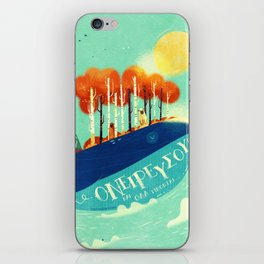:::Tall Tree Whale::: iPhone Skin