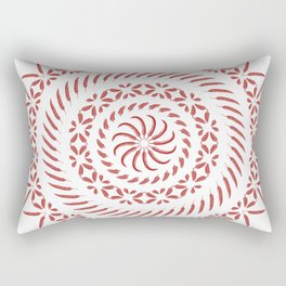 Spicy • Mandala Rectangular Pillow