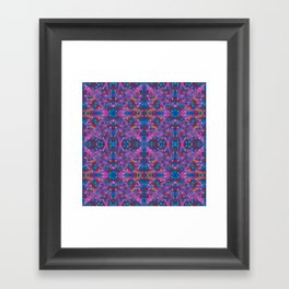 A Night To Remember Kaleidoscope Framed Art Print